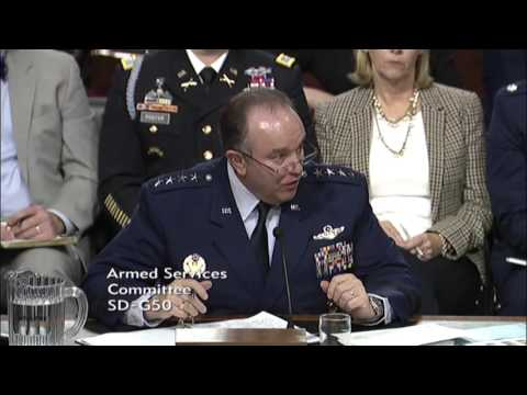 Senator Lee discusses European military spending with senior military officials