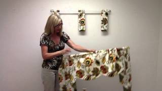 How to Order and Hang a Regal Valance Thumbnail