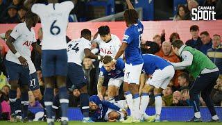 La très grave blessure d'André Gomes lors d'Everton - Tottenham, les joueurs sous le choc