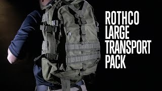 Large Transport Tactical Backpack - Rothco's Product Breakdown