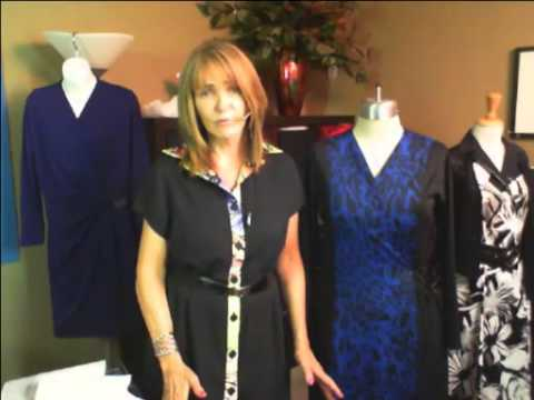 Silhouette Patterns The Wrap Dress YouTube Beauteous Silhouette Patterns Youtube