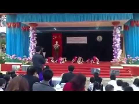 Nhảy aerobic Ước mơ tuổi thần tiên Lớp 1E - Trường Tiểu học Nguyễn Viết Xuân