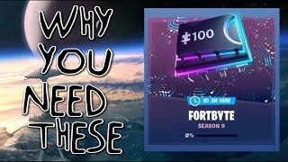 Why Fortbytes are important in the Battle Pass - Season 9 Fortnite
