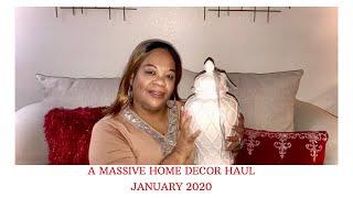 A Massive Home Decor Haul Jan 2020