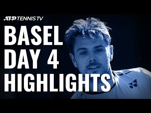 Wawrinka Beats Tiafoe in Epic; Tsitsipas, Bautista Agut Through to QFs | Basel 2019 Day 4 Highlights