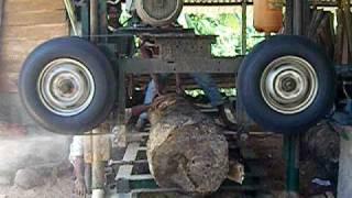 Home Made Band Saw Mill  Sri Lanka