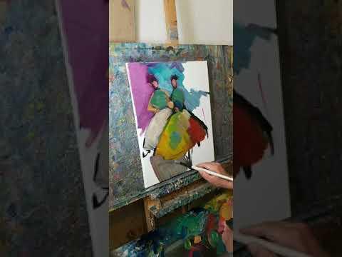 Art Chat – Oil Painting Demo – Figurative Paintings – Artist Jose Trujillo
