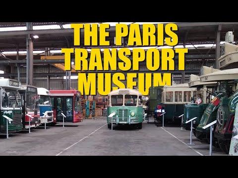 MTU: The Fantastic Paris Transport Museum That No-One In Paris Knows About