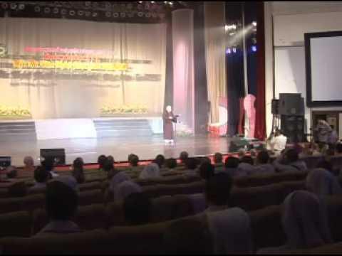 Hội thi Văn nghệ 2008: Phát biểu khai mạc