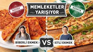 Hatay'dan Biberli Ekmek vs. Konya'dan Etli Ekmek: Memleketler Yarışıyor | 1. Bölüm