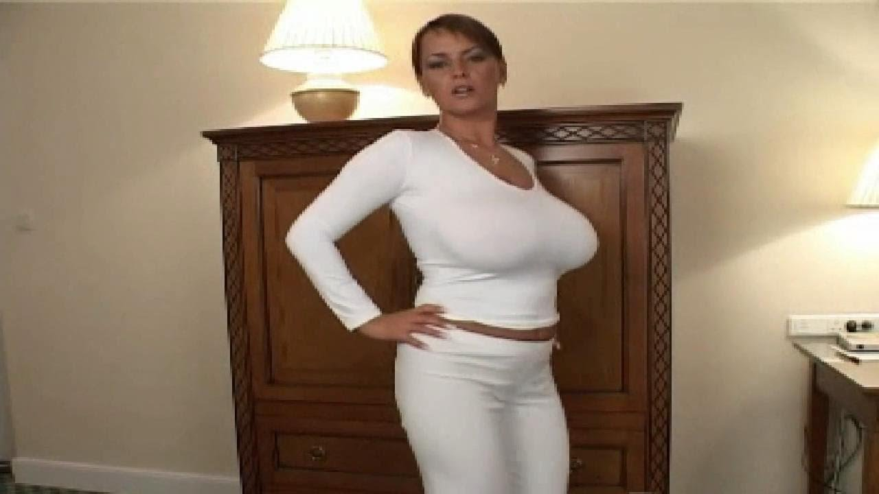 bea flora ❤ in lovely white pants - youtube