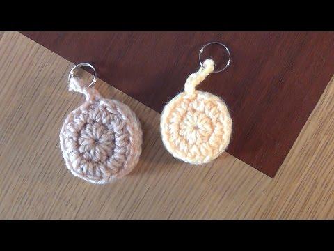 Hướng dẫn làm móc khóa hình bánh quy từ len