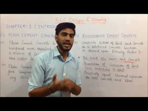 RCC Design and drawing  introduction   in hindi part 2