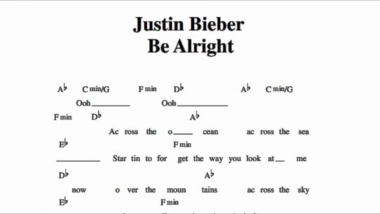 Be Alright Lyrics
