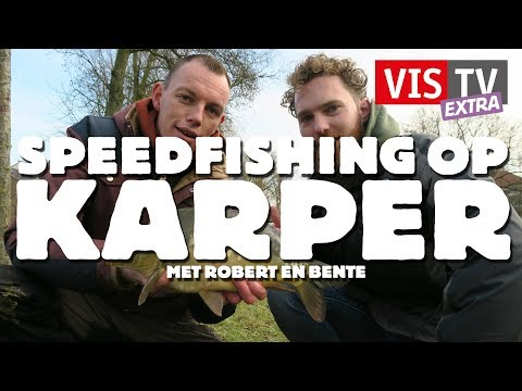VisTV Extra #35 - Speedfishing op karper met Robert en Bente