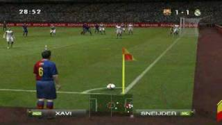 PES 2009 GamePlay (PC) Barcelona - Real