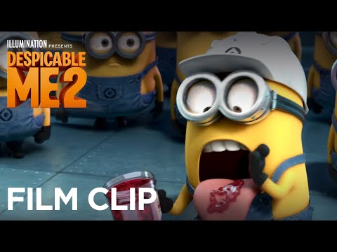 "Despicable Me 2 - Clip: ""Minions Tasting Gru's Jelly"" - Illumination"