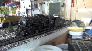 Review of The Bachmann Spectrum 2-8-0 Santa Fe with sound