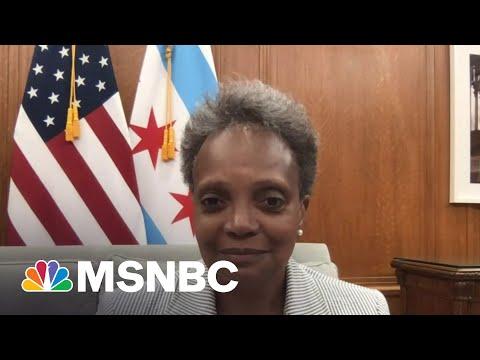 Mayor Lightfoot Talks Chicago Reopening, Addressing Gun Violence