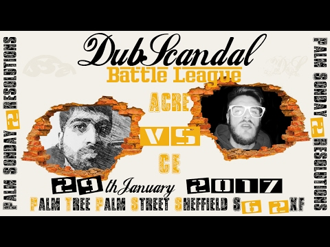 ACRE VS CE | DubScandal Rap Battle