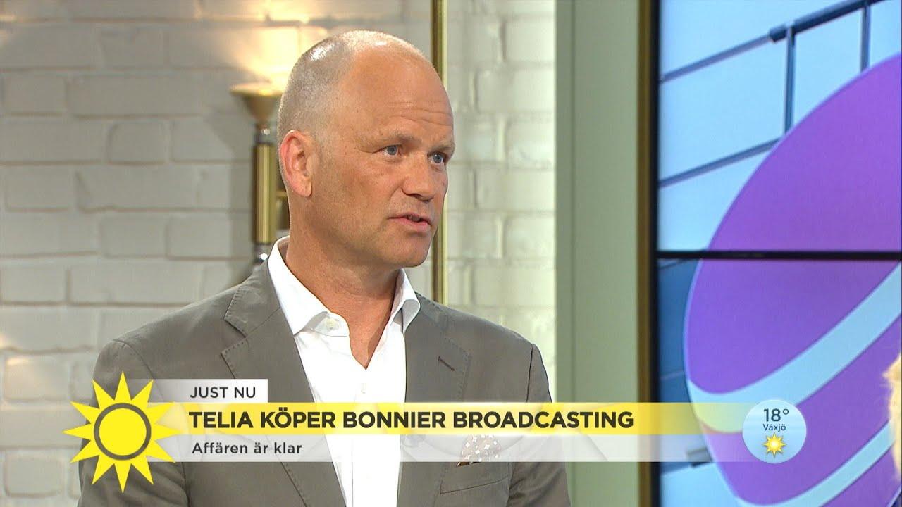"""TV4s vd om Teliaaffären: """"Vi hoppas inte detta innebär en försämring"""" - Nyhetsmorgon (TV4)"""