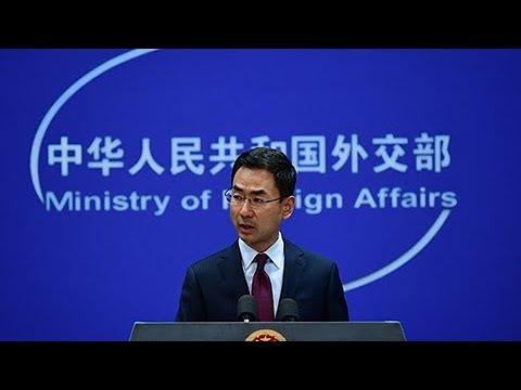 China slams U.S. over warships sailing in South China Sea