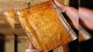 This Ancient Book Is Bound Together With Human Skin