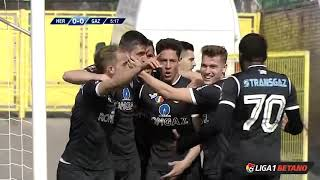 Rezumat: FC Hermannstadt - Gaz Metan 0-2 Liga 1 Play Out Etapa 1