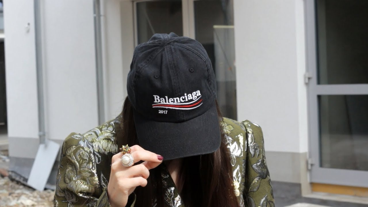 another chance dirt cheap innovative design HOW TO STYLE: BALENCIAGA 2017 CAP