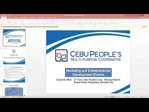 Cebu People's Coop Presentation