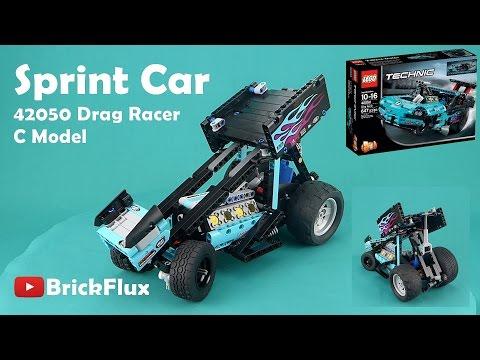 My Lego Technic Sprint Car Made Using The Drag Racer Set Lego