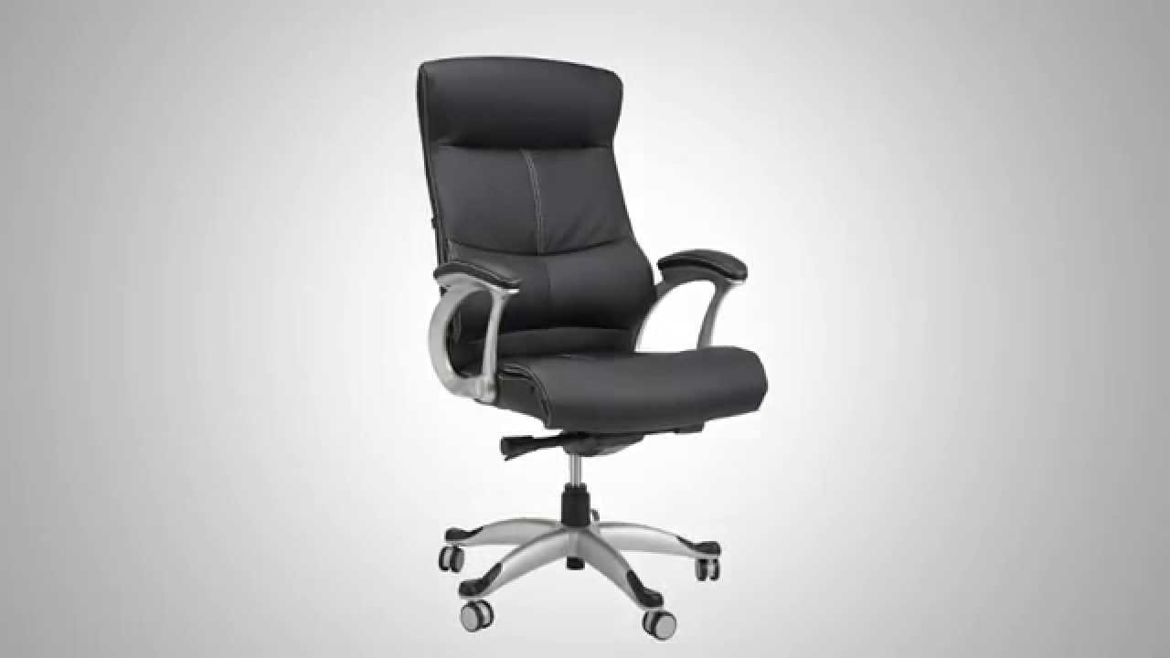Samsonite Singapore Bonded Leather fice Chair ficial Product Video