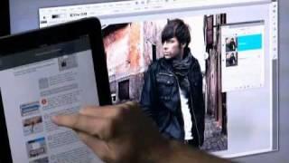 видео Программы-приложения Photoshop  для  iPad: Adobe Color Lava, Adobe Nav, Adobe Eazel. Photoshop  для  iPad.