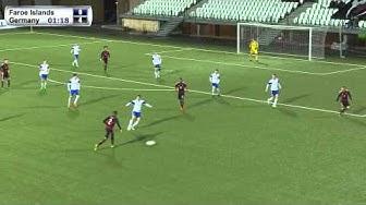 FSF Varpið: U21 Qualifying 2017, Group 7: Faroe Islands - Germany