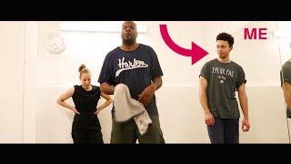 I took a Tap Dance class !