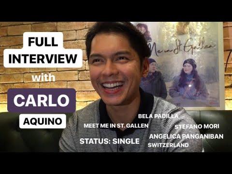 FULL INTERVIEW with Carlo Aquino | Meet Me in St. Gallen Blogcon