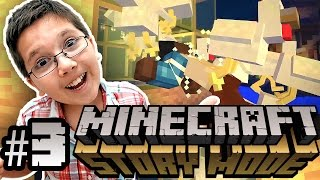 Minecraft: Story Mode - CHICKEN MACHINE HEAD SMASH - Episode 3