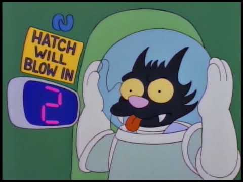 """The Simpsons - S5E15 """"Deep Space Homer"""" - FULL EPISODE...In 1 Minute"""