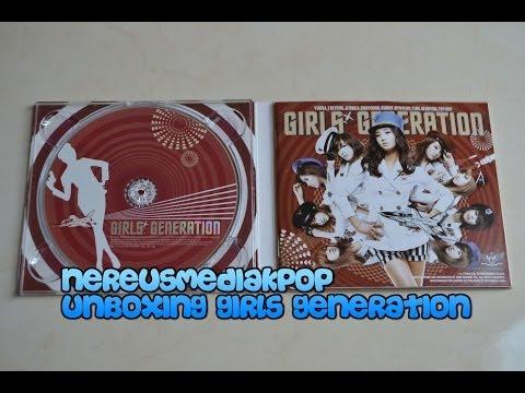 Girls' Generation GENIE (2009) Unboxing