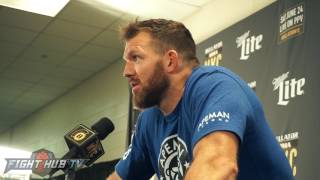 Ryan Bader wants Tito Ortiz rematch; Speaks on finally winning a world title