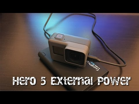How To Connect External Power To GoPro Hero 5