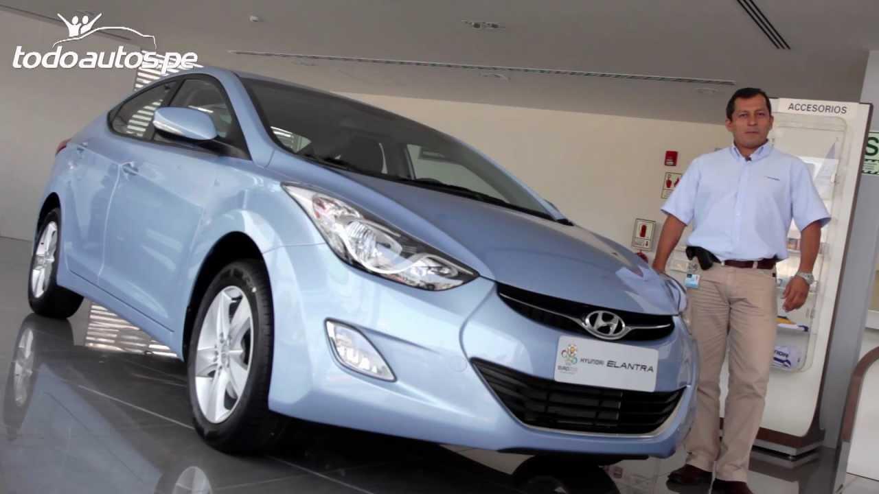 Hyundai Elantra En Per 250 I Video En Full Hd I Presentado