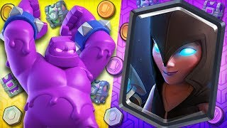 🥇BEST GLOBAL TOURNAMENT DECK!🥇 OP Elixir Golem, DOUBLE Witch MEGA COMBO!