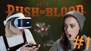 One of Let's Play Games's most viewed videos: UNTIL DAWN RUSH OF BLOOD PS VR | Part 1