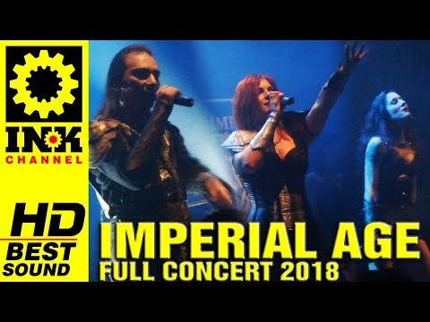 IMPERIAL AGE - Full Concert w/ THERION [8/3/18 Thessaloniki Greece]