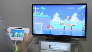 New Super Mario Bros. Wii U Gameplay (Mii)