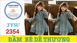 Đầm Bé Gái Xinh Như Thiên Thần - 2354