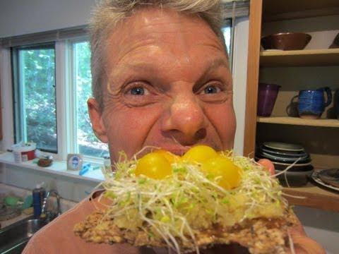 Probiotic Pizza!  Raw Food Recipe
