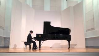 Jared plays Chopin, Waltz in A-flat Major, op.64, no.3