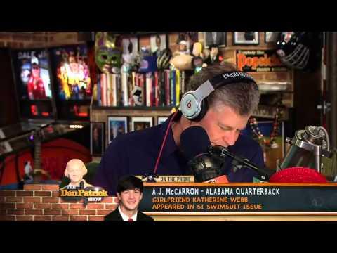 AJ McCarron on The Dan Patrick Show 3/7/13